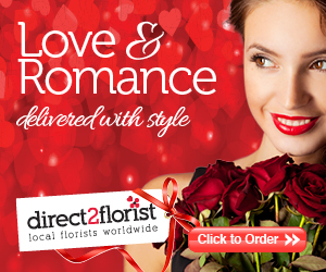 Valentine's Day Flower Delivery by Direct2florist